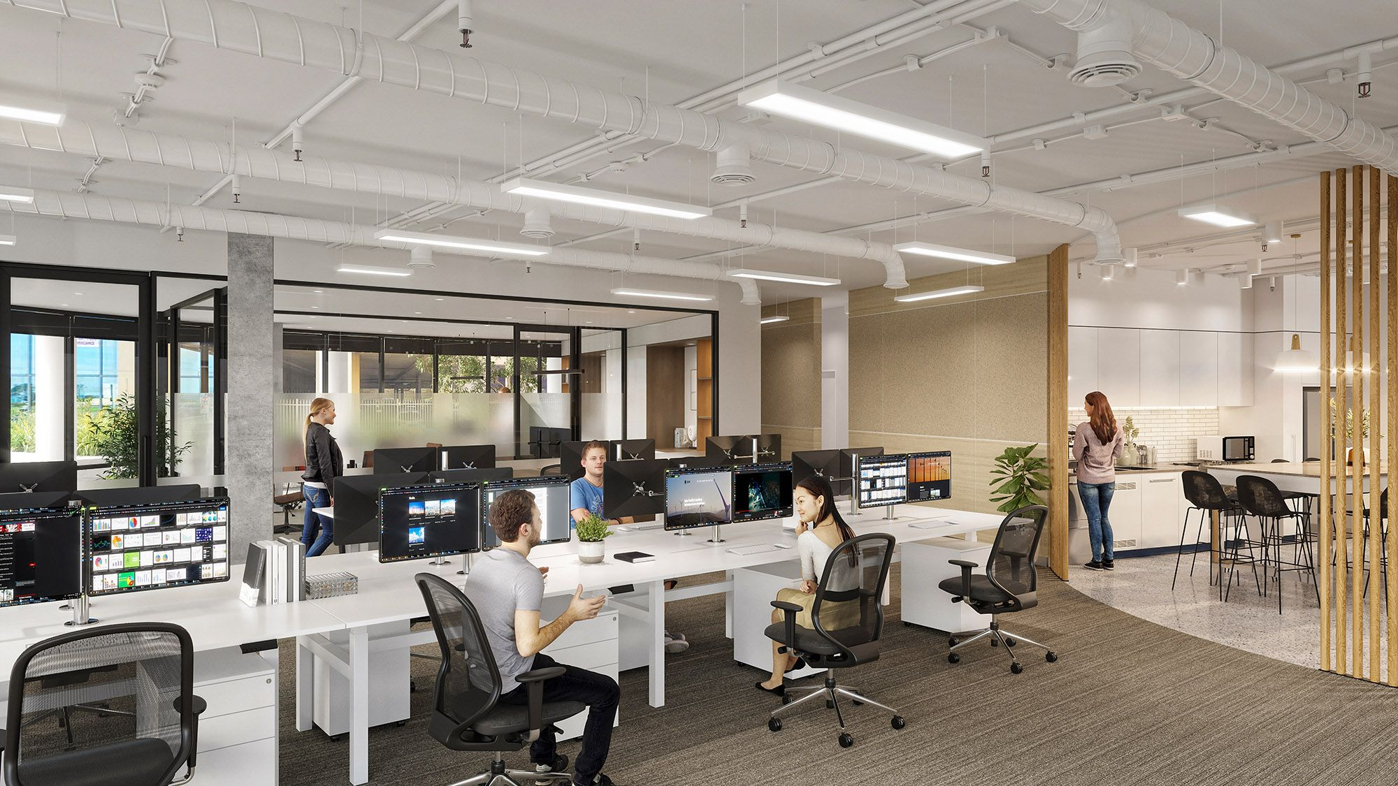 Commercial Furniture and Workstations