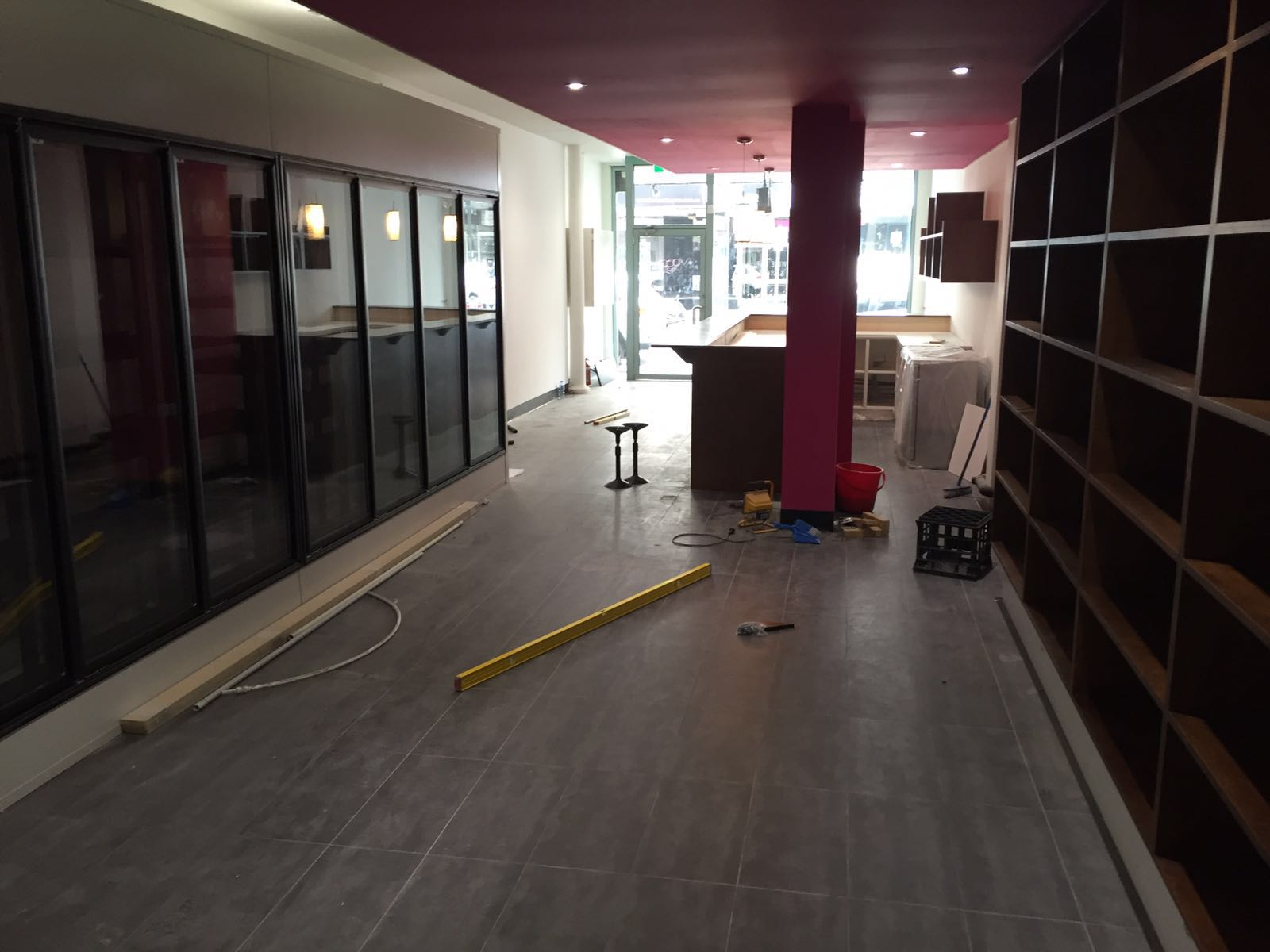 Commercial Carpentry At Wine Bar Essondon|Ultimate Chippy