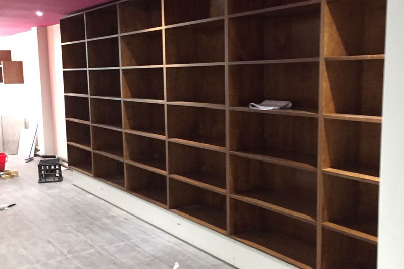 Retail Store Fit out Maintenance at Wine Bar Essendon Ultimate Chippy
