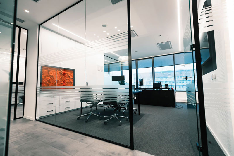 Office Partitions|Kenny's Cardiology|Ultimate Chippy